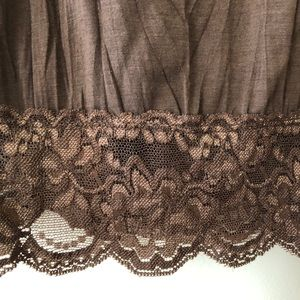 Maurices Tops - EUC Maurice's Lace Cami Camisole, Small